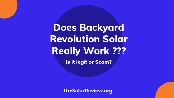 Does Backyard Revolution Really Work? find out Is it legit or scam?