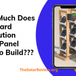 How much does Backyard Revolution Solar panel cost to build?