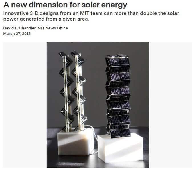 MIT 3D Solar Tower