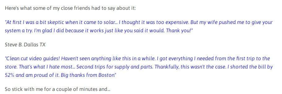 Smart Solar Box Customer Reviews