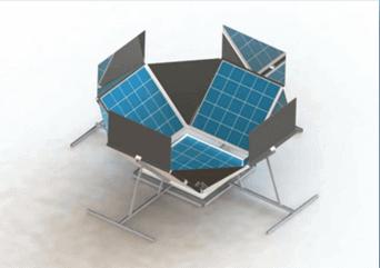DIY Dish System Model Prototype Image